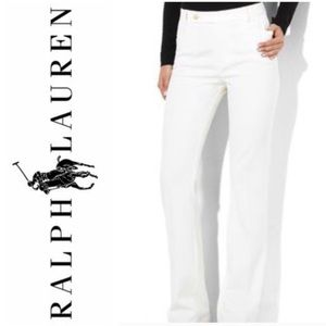 Women's Ralph Lauren Adelle White Pants Size 6